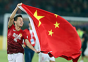 Sep 09, 2013; Guangzhou, CHINA; Guangzhou Evergrande became the first Chinese club to win the AFC Champions League on Saturday evening as Marcello Lippi's side secured the title on the away goals ruling after a 1-1 draw at Tianhe Stadium saw the Chinese Super League champions draw 3-3 over the two legs of the final with Korea Republic's FC Seoul.