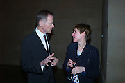SIR NICHOLAS SEROTA, Opening for Nick Waplington's Alexander McQueen photography exhibition and Christina Mackie's Tate Britain Commission. Tate Britain. London. 23 March 2015