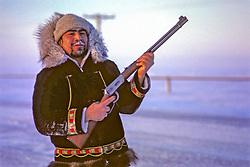 Jose With Hunting Rifle