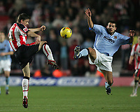 Photo: Lee Earle.<br /> Southampton v Hull City. Coca Cola Championship. 04/11/2006. Hull's John Welsh (R) and John Welsh.