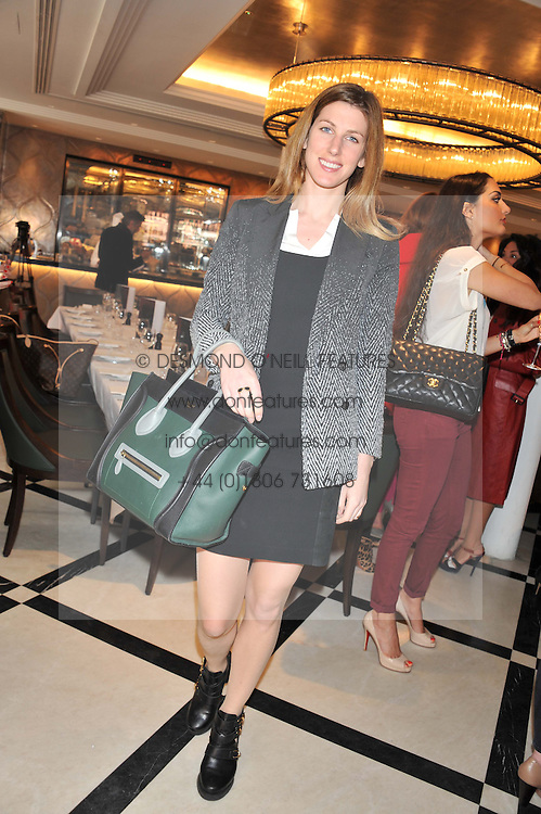 SUSANNA WARREN at a lunch to launch Cash & Rocket on Tour 2013 hosted by Julia Brangstrup in aid of Orpan Aid and Shine on Sierrra Leone held at Banca, 40 North Audley Street, London on 29th April 2013.