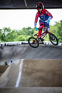#293 (VAN HEUGTEN Ian) NED at Round 5 of the 2019 UCI BMX Supercross World Cup in Saint-Quentin-En-Yvelines, France