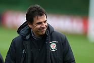 061117 Wales football training