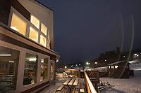Clubhouse at Gunstock Ski Club.   ©2021 Karen Bobotas Photographer
