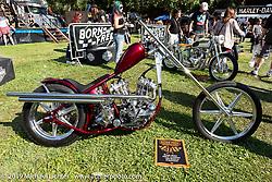 BF11 invited builder Oliver Jones Harley-Davidson UL Flathead / Knucklehead chopper at the