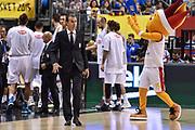 DESCRIZIONE : Berlino Berlin Eurobasket 2015 Group B Germany Germania - Italia Italy<br /> GIOCATORE : Simone Pianigiani<br /> CATEGORIA : Allenatore Coach Before Pregame<br /> SQUADRA : Italia Italy<br /> EVENTO : Eurobasket 2015 Group B<br /> GARA : Germany Italy - Germania Italia<br /> DATA : 09/09/2015<br /> SPORT : Pallacanestro<br /> AUTORE : Agenzia Ciamillo-Castoria/GiulioCiamillo