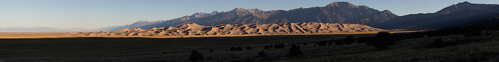 http://Duncan.co/great-sand-dunes-panorama-at-dawn