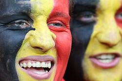 13-06-2016 FRA: UEFA EURO Belgie - Italie, Lyon<br /> België verliest met 2-0 van Italie / Belgie support publiek<br /> <br /> ***NETHERLANDS ONLY***