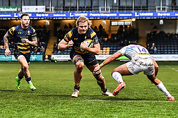 David Denton of Worcester Warriors in action - Mandatory by-line: Craig Thomas/JMP - 27/01/2018 - RUGBY - Sixways Stadium - Worcester, England - Worcester Warriors v Exeter Chiefs - Anglo Welsh Cup