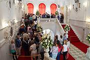 Interior of The Catherine Palace, Pushkin, Saint Petersburg, Russia