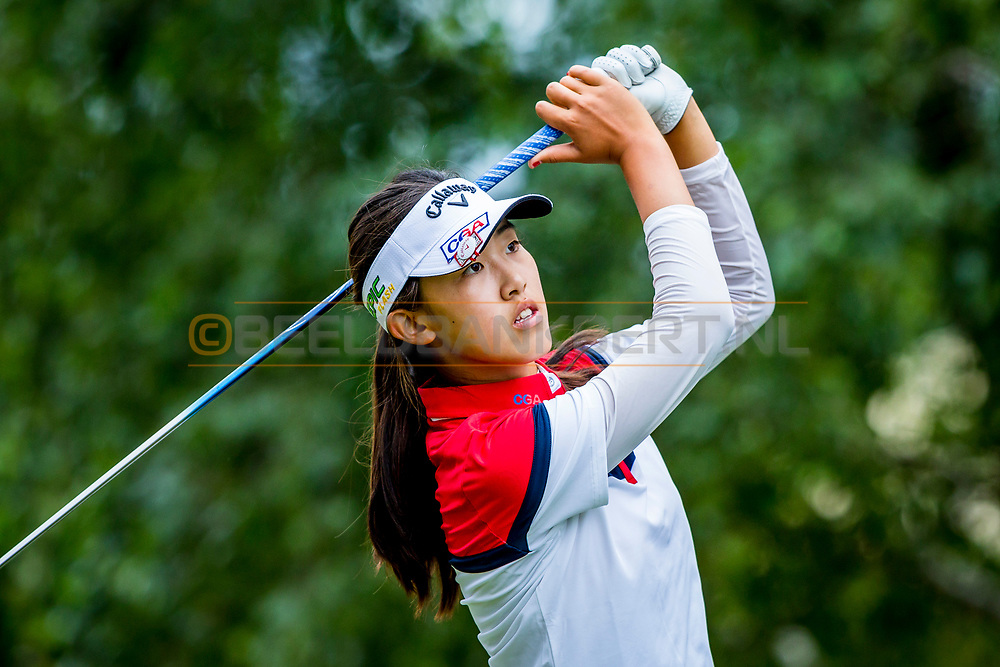 20-07-2019 Pictures of the final day of the Zwitserleven Dutch Junior Open at the Toxandria Golf Club in The Netherlands.<br /> YIN, Xiaowen