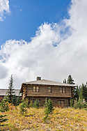 Building of the Yakima Stockade Group at the Sunrise area in Mount Rainier National Park, Washington State, USA