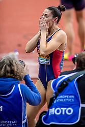 05-03-2017  SRB: European Athletics Championships indoor day 3, Belgrade<br /> Ivan Spanovice SRB pakt het goud op het onderdeel verspringen