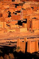 Maroc - Haut Atlas - Vallée du Dadès - Kasbah et ville de Imiter
