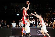 DESCRIZIONE : Milano Euroleague 2015-16 EA7 Emporio Armani Milano - Olympiacos Piraeus<br /> GIOCATORE : Robbie Hummel<br /> CATEGORIA : tiro three points controcampo<br /> SQUADRA : EA7 Emporio Armani Milano<br /> EVENTO : Euroleague 2015-2016<br /> GARA : EA7 Emporio Armani Milano - Olympiacos Piraeus<br /> DATA : 30/10/2015<br /> SPORT : Pallacanestro<br /> AUTORE : Agenzia Ciamillo-Castoria/Max.Ceretti<br /> Galleria : Euroleague 2015-2016 <br /> Fotonotizia: Milano Euroleague 2015-16 EA7 Emporio Armani Milano - Olympiacos Piraeus