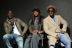 November 10, 2017 - New York, NY, USA - November 10, 2017  New York City..Djimon Hounsou, Naomi Campbell, Sean Combs attending the Pirelli Calendar by Tim Walker photocall on November 10, 2017 in New York City. (Credit Image: © Kristin Callahan/Ace Pictures via ZUMA Press)