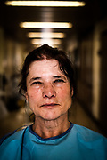 """Palmira Teixeira, hospital cleaning maid """"I'm ready for everything"""""""