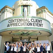 Centennial Client Appreciation at Lido Live Theater 2015