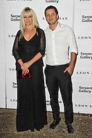 LONDON - JUNE 26: Jo Wood; Jesse Wood attended the Serpentine Gallery summer party, Kensington Gardens, London, UK. June 26, 2012. (Photo by Richard Goldschmidt)