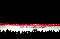 Latvia's Ulla Zirne in the Women's Luge Singles Run during day three of the PyeongChang 2018 Winter Olympic Games in South Korea.