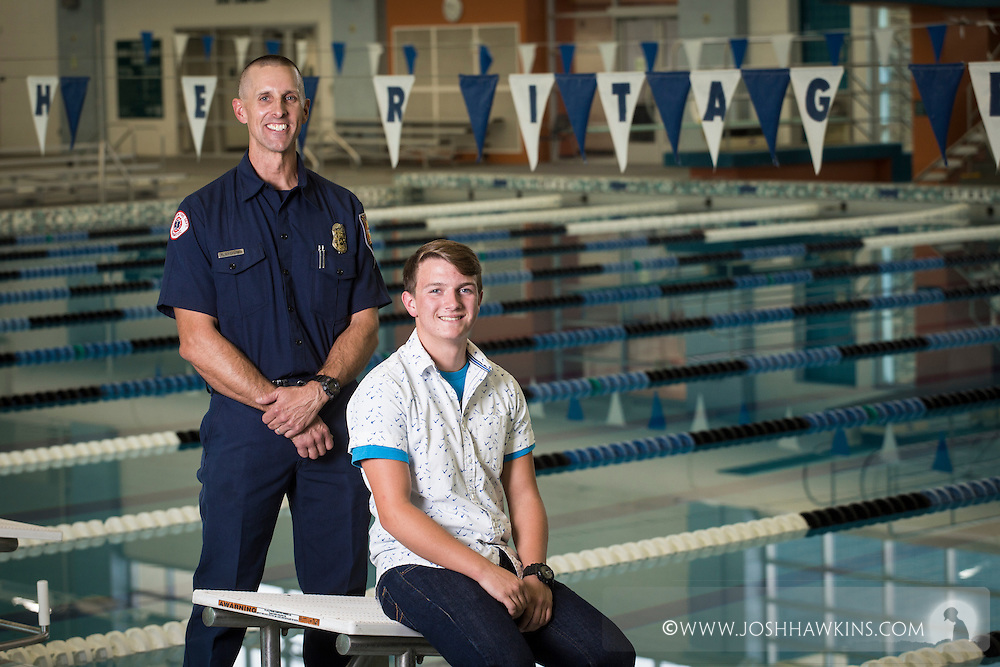 Robert & Taylor - these Red Cross Everyday Heroes Award winners worked together to save an unresponsive 3 year old from drowning. Their teamwork helped avoid a tragedy.