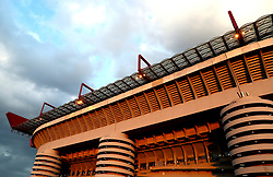 A general view of San Siro prior to the match
