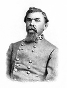 William Joseph Hardee (October 12, 1815 – November 6, 1873) was a career U.S. Army and Confederate States Army officer. For the U.S. Army, he served in the Second Seminole War and in the Mexican–American War, where he was captured and exchanged. In the American Civil War, he sided with the South and became a general. Hardee served in the Western Theater and quarreled sharply with two of his commanding officers, Braxton Bragg and John Bell Hood. He served in the Atlanta Campaign of 1864 and the Carolinas Campaign of 1865, where he surrendered with General Joseph E. Johnston to William Tecumseh Sherman in April. Hardee's writings about military tactics were widely used on both sides in the conflict. from the book ' The Civil war through the camera ' hundreds of vivid photographs actually taken in Civil war times, sixteen reproductions in color of famous war paintings. The new text history by Henry W. Elson. A. complete illustrated history of the Civil war