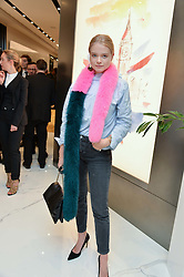 CHARLIE NEWMAN at the launch of the new Giusepe Zanotti store in Conduit Street, London on 26th October 2016.