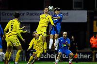 James Jennings. Stockport County FC 3-0 Eastleigh FC. Vanarama National League. Edgeley Park. 23.3.21