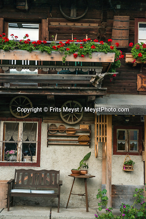 Uttendorf, Salzburgerland, August 2015. The home of Theresia Bacher. Photo by Frits Meyst / MeystPhoto.com