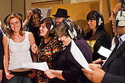 The TUC organised a recording session at Metropolis studios of the Canned Heat classic 'Lets work together'. Union members from all over the UK came together to sing. The song will be released the week before the biggest strike action in years on the 30th of November 2011.