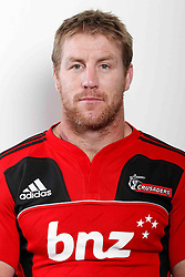 Brad Thorn. Crusaders Headshots. Investec Super Rugby, Rugby Park, Christchurch. Thursday 3 Febuary 2011 . Photo: Simon Watts/photosport.co.nz