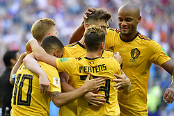 July 14, 2018 - Saint Petersbourg, Russie - SAINT PETERSBURG, RUSSIA - JULY 14 : goal Eden Hazard midfielder of Belgium during the FIFA 2018 World Cup Russia Play-off for third place match between Belgium and England at the Saint Petersburg Stadium on July 14, 2018 in Saint Petersburg, Russia, 14/07/18 (Credit Image: © Panoramic via ZUMA Press)