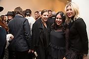 CARINE LEE; ELEANOR CONDO; ANASTASIA LENGLET, George Condo - private view . Simon Lee Gallery, 12 Berkeley Street, London, 10 February 2014