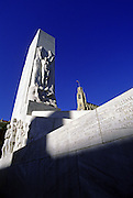 Image of the Monument honoring heroes at Alamo Square in San Antonio, Texas, American Southwest by Andrea Wells