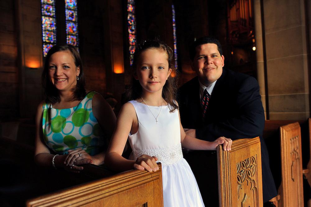 Olivia Granville's first communion Saturday May 7, 2011 in Atlanta. (© 2011 Stephen B. Morton Photography)