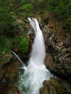 Just one of the many waterfalls one can encounter in Valchiusella in springtime, especially after a very snowy winter. Stitched from four horizontal takes.