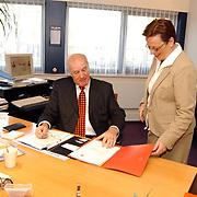 Rabobank huizen, directeur Jan van der Mark en Jacqueline Wagenmaker
