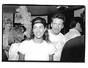 Calvin and Kelly Klein. Priscilla Queen of The Desert. Sag Harbour. 29 July 1994.© Copyright Photograph by Dafydd Jones 66 Stockwell Park Rd. London SW9 0DA Tel 020 7733 0108 www.dafjones.com