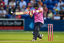 Stephen Eskinazi of Middlesex in action<br /> <br /> Photographer Craig Thomas/Replay Images<br /> <br /> Vitality Blast T20 - Round 4 - Glamorgan v Middlesex - Friday 26th July 2019 - Sophia Gardens - Cardiff<br /> <br /> World Copyright © Replay Images . All rights reserved. info@replayimages.co.uk - http://replayimages.co.uk