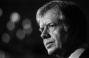 President Jimmy Carter announces that the U.S. will boycott the Olympic Games scheduled to take place in Moscow that summer. The announcement came after the Soviet Union failed to comply with Carter's February 20, 1980, deadline to withdraw its troops from Afghanistan.
