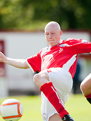 Brechin City's Gerry McLaughlin..Brechin City 1 v 2 Falkirk, The Ramsden Cup..©Pic : Michael Schofield.