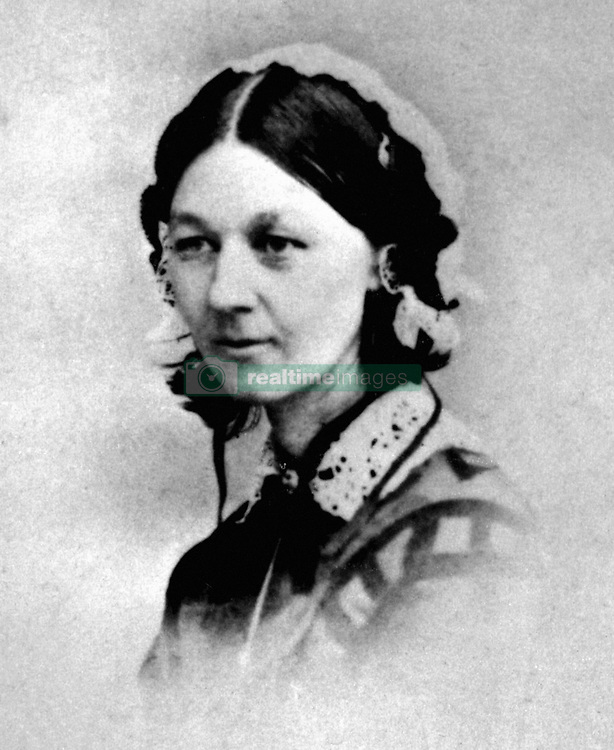 File photo dated 1856 of Florence Nightingale, who has been voted ninth in a list of women who have made the most significant impact on world history.