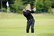Anthony Snobeck (FRA) on the 15th fairway while playing the 3rd during Round 2 of the Northern Ireland Open in Association with Sphere Global & Ulster Bank at Galgorm Castle Golf Club on Friday 7th August 2015.<br /> Picture:  Thos Caffrey / www.golffile.ie