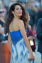 Amal Clooney attends the Premiere of Paramount Pictures' 'Suburbicon' at Regency Village Theatre on October 22, 2017 in Los Angeles, California. Photo by Lionel Hahn/AbacaPress.com