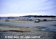 Construction of a suburban shopping mall, 1998, Erie, Erie Co., PA