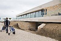 BADHOEVEDORP - GOLF - Clubhuis van Amsterdam International Golfbaan, bij Schiphol. FOTO KOEN SUYK