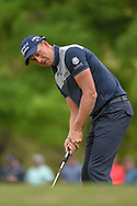 Henrik Stenson (SWE) watches his putt on 1 during day 3 of the WGC Dell Match Play, at the Austin Country Club, Austin, Texas, USA. 3/29/2019.<br /> Picture: Golffile | Ken Murray<br /> <br /> <br /> All photo usage must carry mandatory copyright credit (© Golffile | Ken Murray)