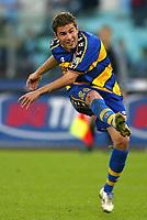 Roma 10 Novembre 2002<br />Lazio - Parma 0-0<br />Adrian Mutu