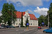 Węgorzewo, 2008-07-10. Budynek Urzędu Miejskiego